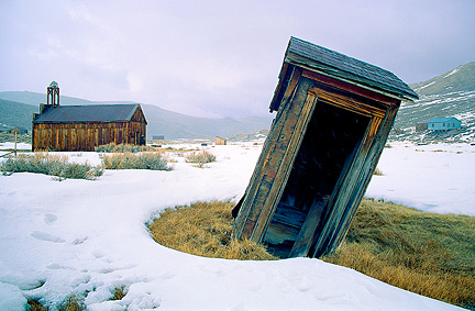 Bodie California Outhouse