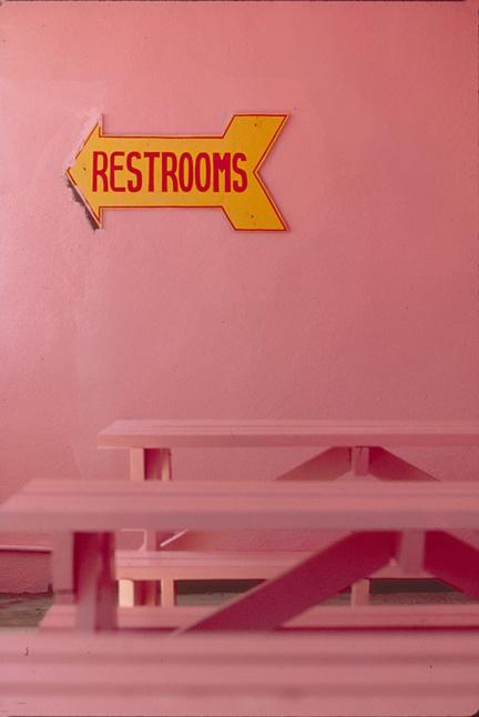 Pink Restroom