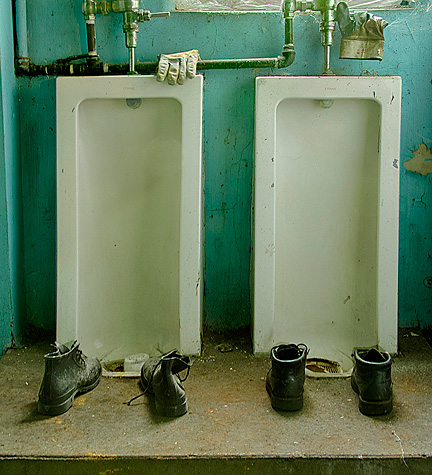 Urinals and Boots